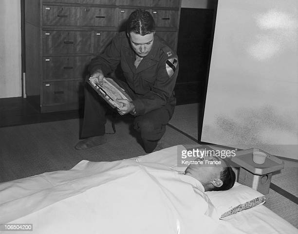 December 26Th 1945 Captain Charles E Sewell Certifies The Death Of Prince Fumimaro Konoye Prime Minister From 1937 To 1941 Who Has Been Poisoned...