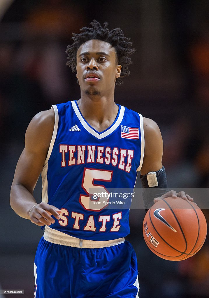 official photos 87d25 9d719 Tennessee State Tigers guard Tahjere McCall during a game ...