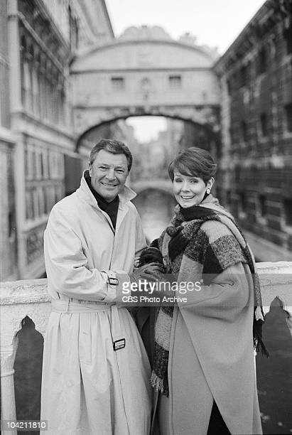 December 30 1986 Don Hastings and Kathryn Hays in Venice Italy