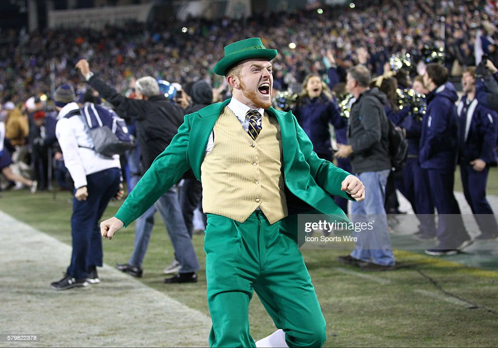 NCAA FOOTBALL: DEC 30 Music City Bowl - Notre Dame v LSU : News Photo