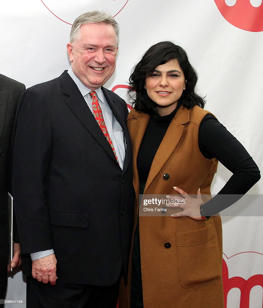 December 5, 2015, Los Angeles,Calif. --- (L-R) Former R-Texas Congressman Steve Stockman and Azam Shaghaghi, CEO & President STS Canada pose during the 2nd Annual Raw Science Film Festival. --- Christopher Farina