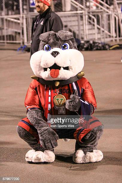 Fresno State Bulldogs mascot during 2nd half action in the Mountain West Conference Championship between the Fresno State Bulldogs and the Boise...