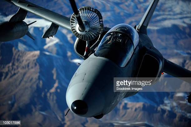 December 7, 2009 - An Italian AMX is refueled by a KC-10A Extender over Afghanistan.