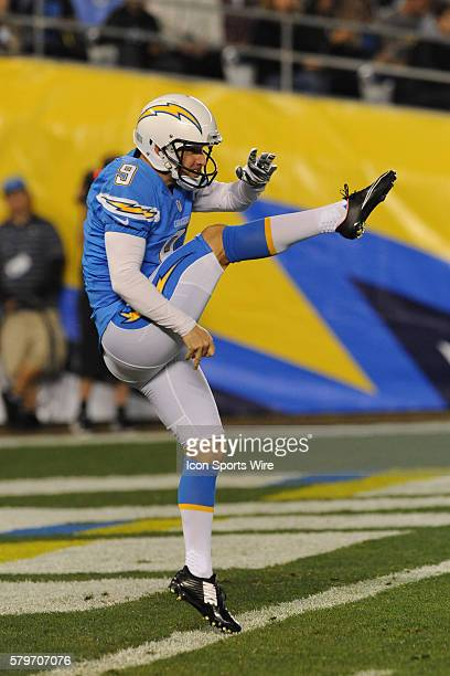 December 7 2014 San Diego California USA San Diego Chargers Place Kicker Nick Novak assumes punting duties after San Diego Chargers Punter Mike...