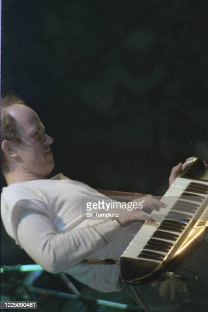 December 8, 1983 ]:MANDATORY CREDIT Bill Tompkins/Getty Images Jan Hammer performs during the ARMS Charity Concerts which were a series of charitable...
