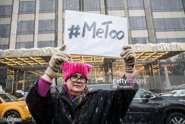 December 9, 2017]: Protest sign that says #METOO at #METOO rally on December 9, 2017 in New York City.