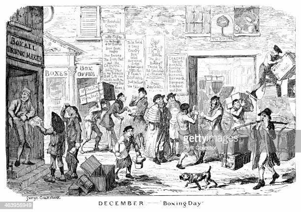 'December Boxing Day' 19th century