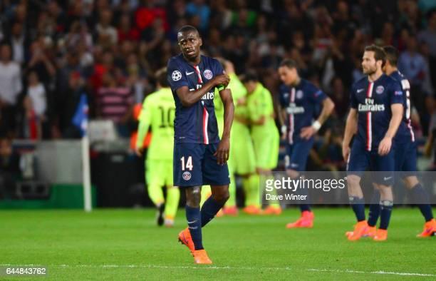 Deception Blaise MATUIDI Paris Saint Germain / Barcelone 1/4Finale Aller Champions League Photo Dave Winter / Icon Sport