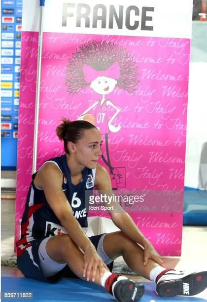 Deception Celine DUMERC France / Lettonie 1/4 Finale Championnar d'Europe de Basket 2007