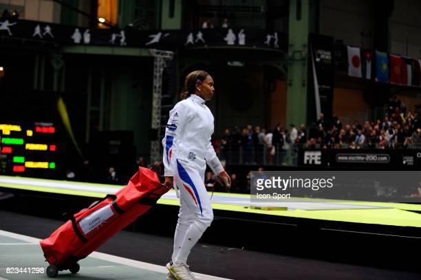 Deception de Laura FLESSEL Epee Quart de finale Championnats du Monde d Escrime 2010 Grand Palais Paris