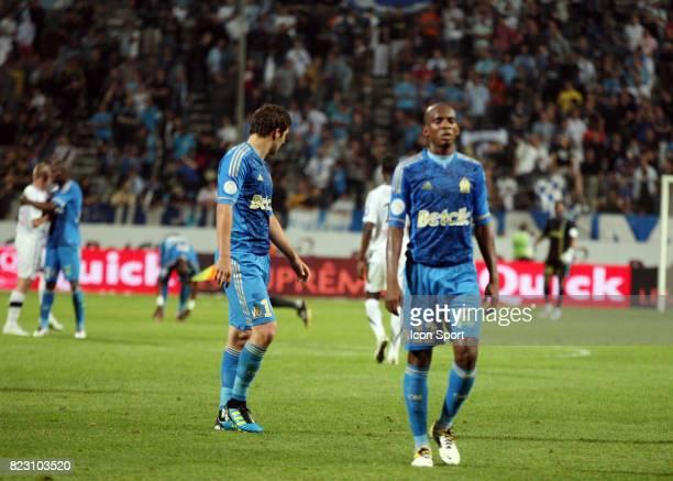Deception de l'OM / Andre Pierre GIGNAC Marseille / Valenciennes 37eme journee de Ligue 1