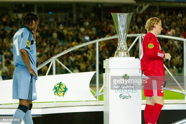 Deception Didier Drogba / Jeremy Gavanon - - Valence / Marseille - Finale Coupe UEFA, Photo : Alain Gadoffre / Icon Sport