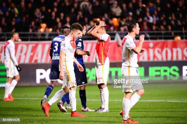 Deception Helder COSTA - - Troyes / Monaco - 19eme journee de Ligue 1, Photo: Dave Winter / Icon Sport