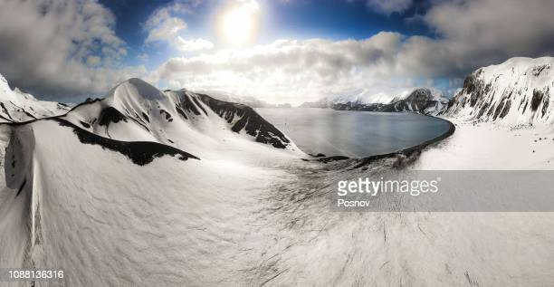 deception island - antarctic peninsula stock pictures, royalty-free photos & images