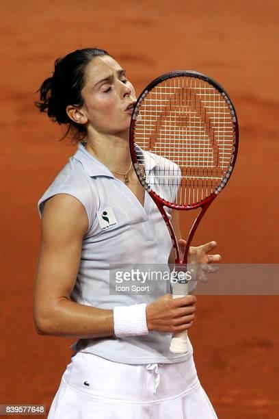 Deception Nathalie DECHY France / Italie Fed Cup Nancy