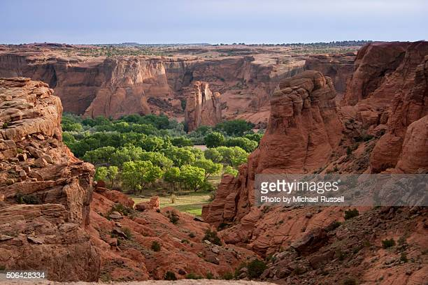 dechelley morning - canyon de chelly national monument stock pictures, royalty-free photos & images