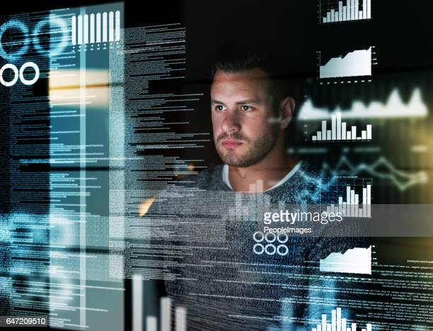 deciphering the metadata - information technology support stock photos and pictures