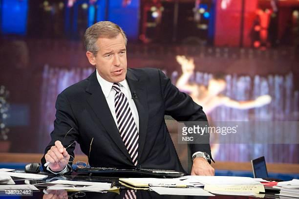 Brian Williams Anchor é·NBC Nightly Newsé· during 'Decision 2010' on November 2 2010