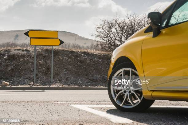 decision point - low angle view stock pictures, royalty-free photos & images