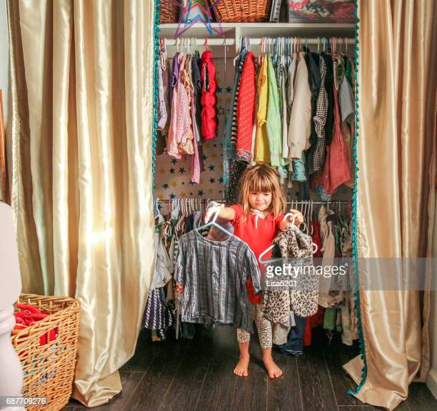 decisions, decisions - little girls with no clothes on stock photos and pictures