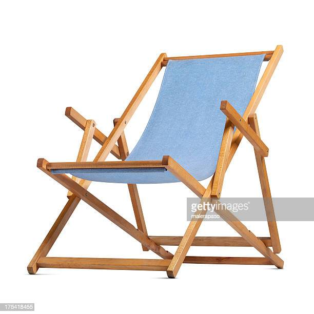 deck chair - outdoor chair stock pictures, royalty-free photos & images