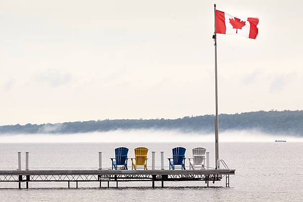 Deck Chairs Canadian Flag