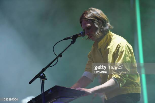 Deck D'arcy of Phoenix performs on the Scissor Stage during day 1 of Grandoozy on September 14 2018 in Denver Colorado