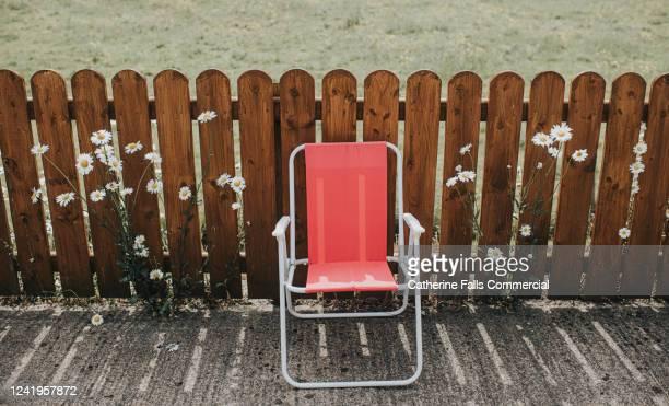 deckchair - cadeira dobrável - fotografias e filmes do acervo
