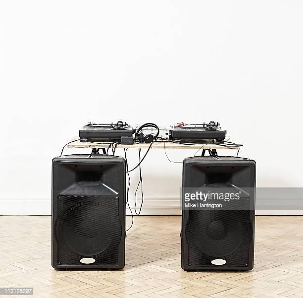 DJ Decks And Speakers