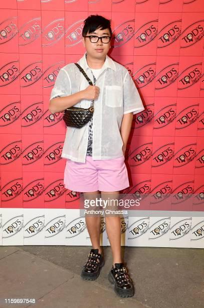 Declan Chan attends Tod's X Alber Elbaz Happy Moments at Yoyo Palais De Tokyo on July 02, 2019 in Paris, France.