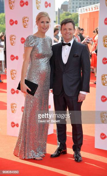 Declan Donnelly and Ali Astall attends the Virgin TV British Academy Television Awards at The Royal Festival Hall on May 13 2018 in London England