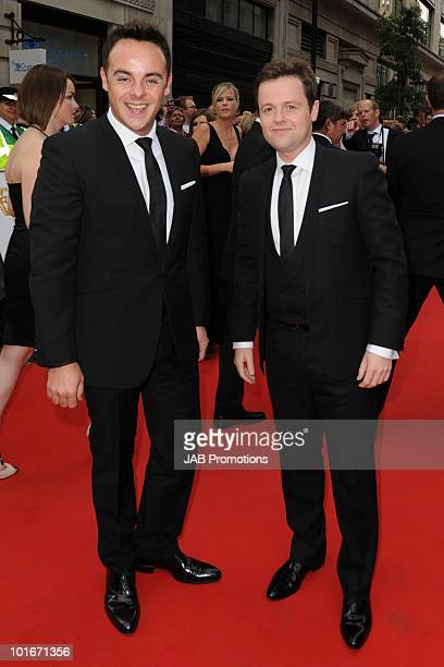 Declan Donnelly and Anthony McPartlin attend the Philips British Academy Television awards at London Palladium on June 6 2010 in London England
