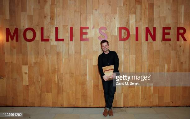 Declan Donnelly attends Mollie's Motel Diner Opening Party on January 29 2019 in Buckland Oxfordshire England