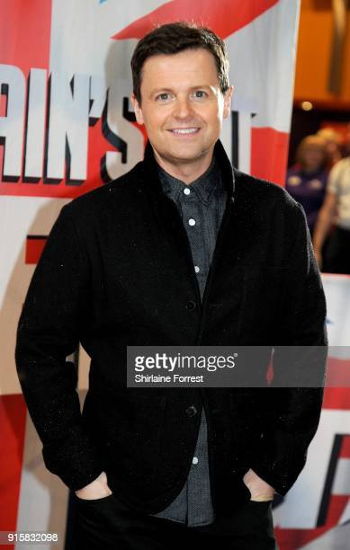 Declan Donnelly attends the Britain's Got Talent Manchester auditions at The Lowry on February 8 2018 in Manchester England