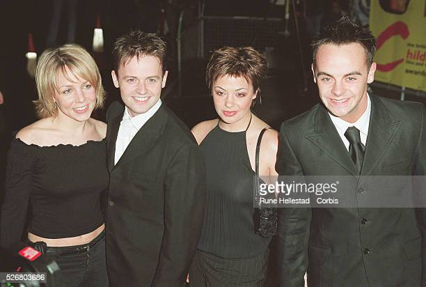 Declan Donnelly girlfriend Clair Buckfield Ant McPortland and girlfriend Lisa Armstrong attend the Children's British Academy of Film and Television...