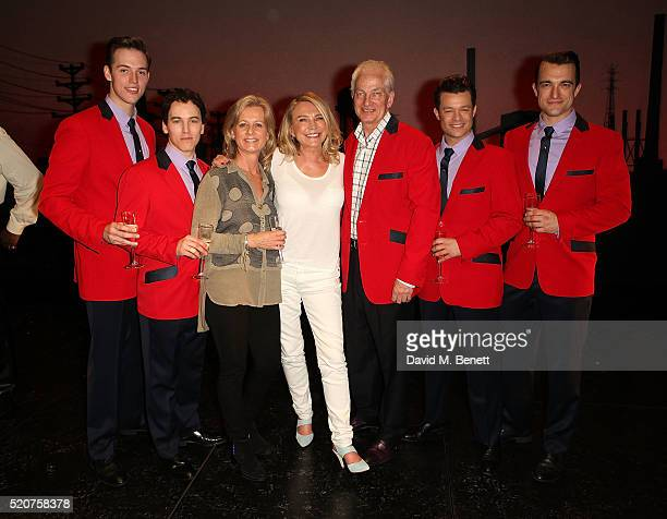 Declan Egan Matt Corner Thorunn Gower Amanda Redman David Gower Simon Bailey and Matt Hunt attends the 8th anniversary gala performance of Jersey...