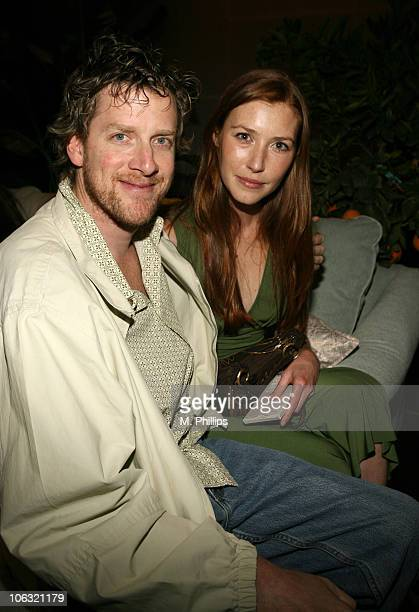 Declan Joyce and Katie Flynn during Red Carpet '06 Suite Day 4 at Scandia in Hollywood CA United States