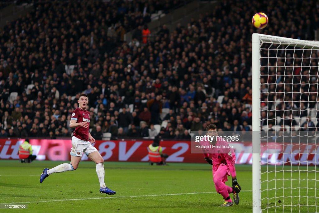 West Ham United v Liverpool FC - Premier League : ニュース写真