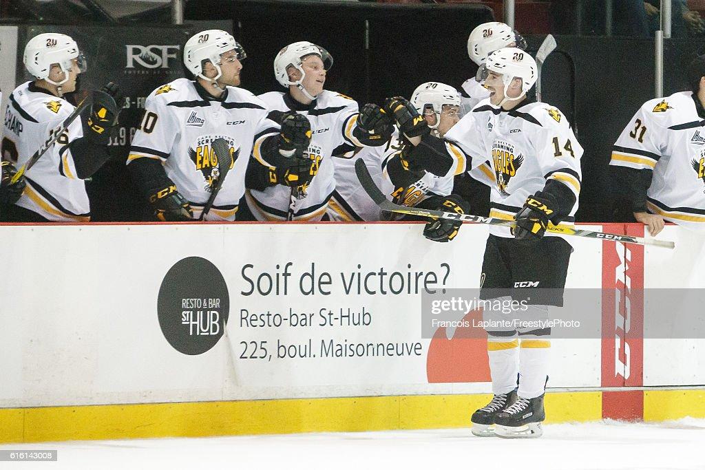 Cape Breton Screaming Eagles v Gatineau Olympiques : News Photo