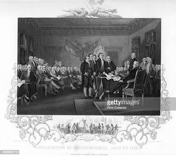 'Declaration of Independence', 1776 .