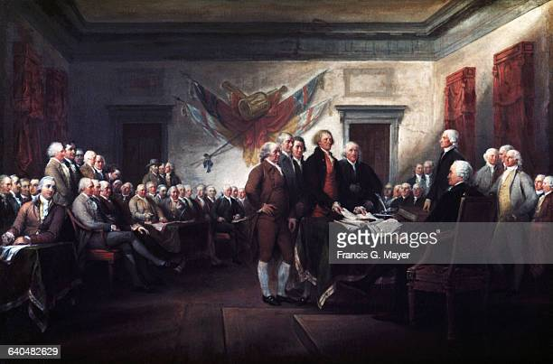 Declaration of Independence 4 July 1776 by John Trumbull