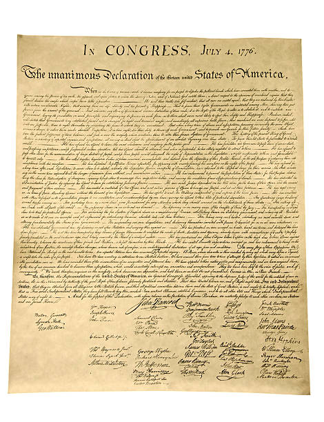 declaration of independence - declaration stock pictures, royalty-free photos & images