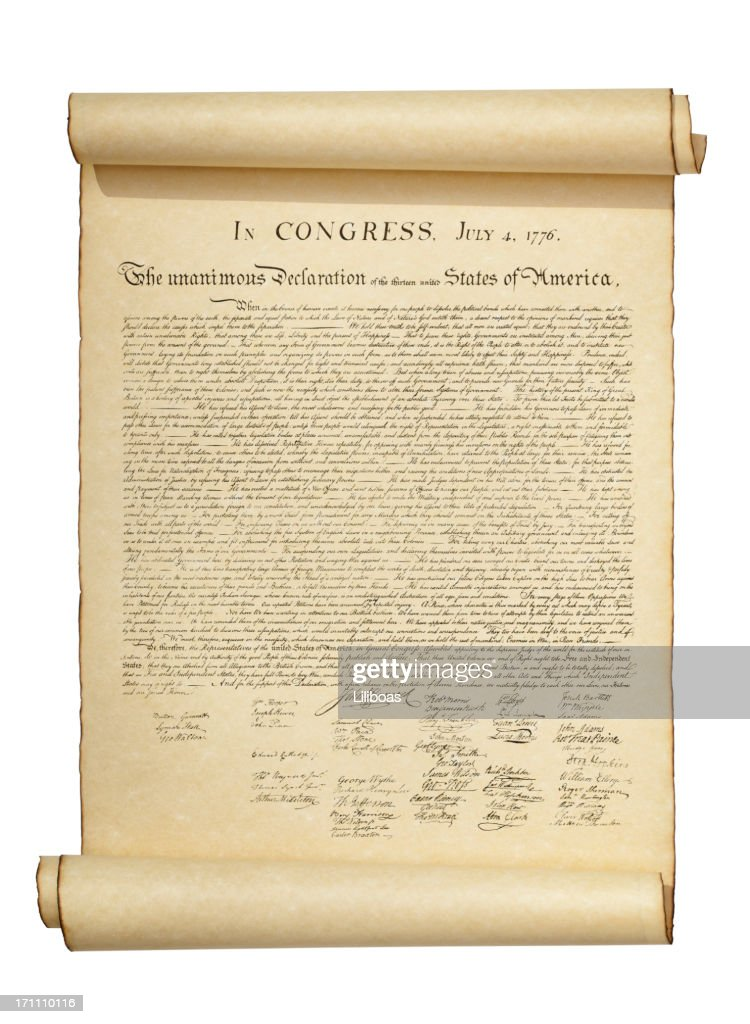 Declaration of Independence : Stock Photo