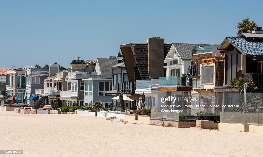FEMA declared these beachfront Newport Beach homes