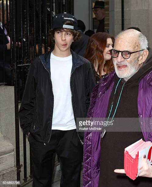 Declyn Wallace Thornton Larry Kramer attending the Broadway Opening Night Performance for 'Kinky Boots' at the Al Hirschfeld Theatre in New York City...