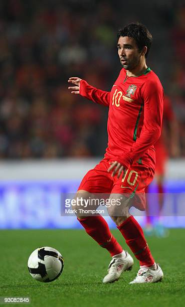 Deco of Portugal in action during the FIFA 2010 European World Cup qualifier first leg match between Portugal and BosniaHerzegovina at the Luz...
