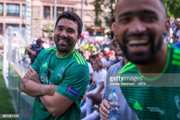 Deco of UEFA Champions League Legends looks on in the Ultimate Champions Tournament prior to the UEFA Champions League final between Real Madrid and...