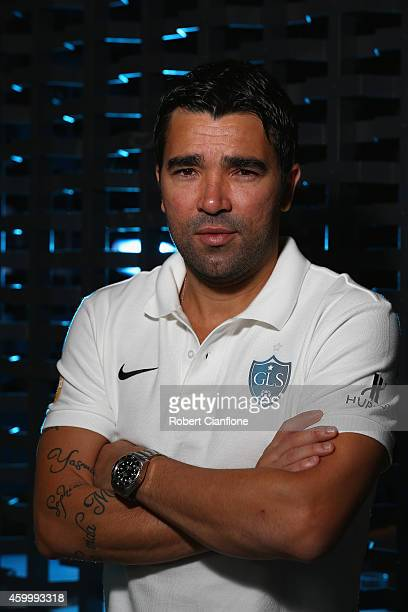 Deco poses during a Global Legends Series portrait session at the Swissotel on December 5 2014 in Bangkok Thailand