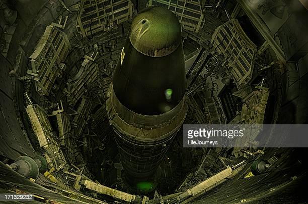 Decommissioned Titan 2  Missile  In Sahuarita Arizona