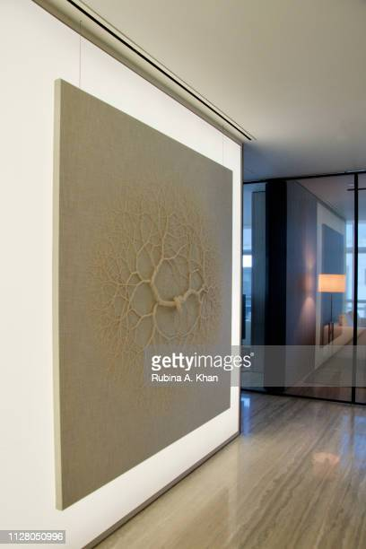 Decor a $300 million company and the world's largest producer of soft furnishings crafted the linen for Brazilian artist Janaina Mello Landini's...